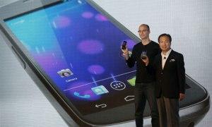 Presentación del Galaxy Nexus de Samsung y Gogle