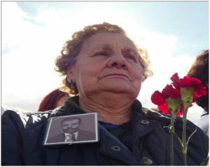 Manifestación por la recuperación de la Memoria Histórica en Valladolid