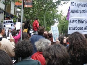 Escrache feminista Madrid