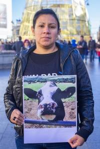 Acto de Igualdad Animal por el pasado Dia de los Animales en Madrid