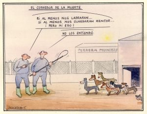Ilustración de Paco Catalán dedicada al artículo