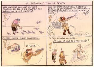 Viñeta de Paco Catalán dedicada al artículo